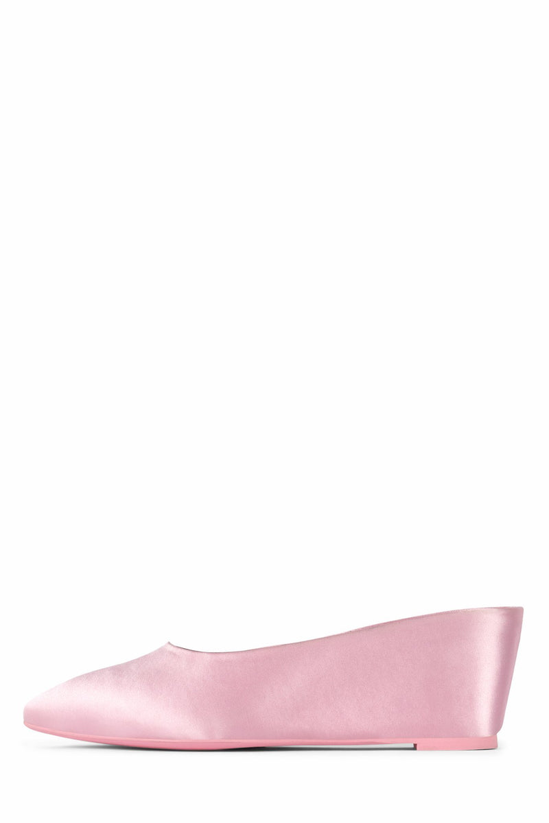 NINON Slippers STRATEGY Pink Satin Pink 5