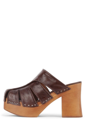 PALEO Platform Mule STRATEGY Brown 6