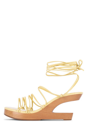 POSH-3 Jeffrey Campbell Dusty Yellow Patent 5