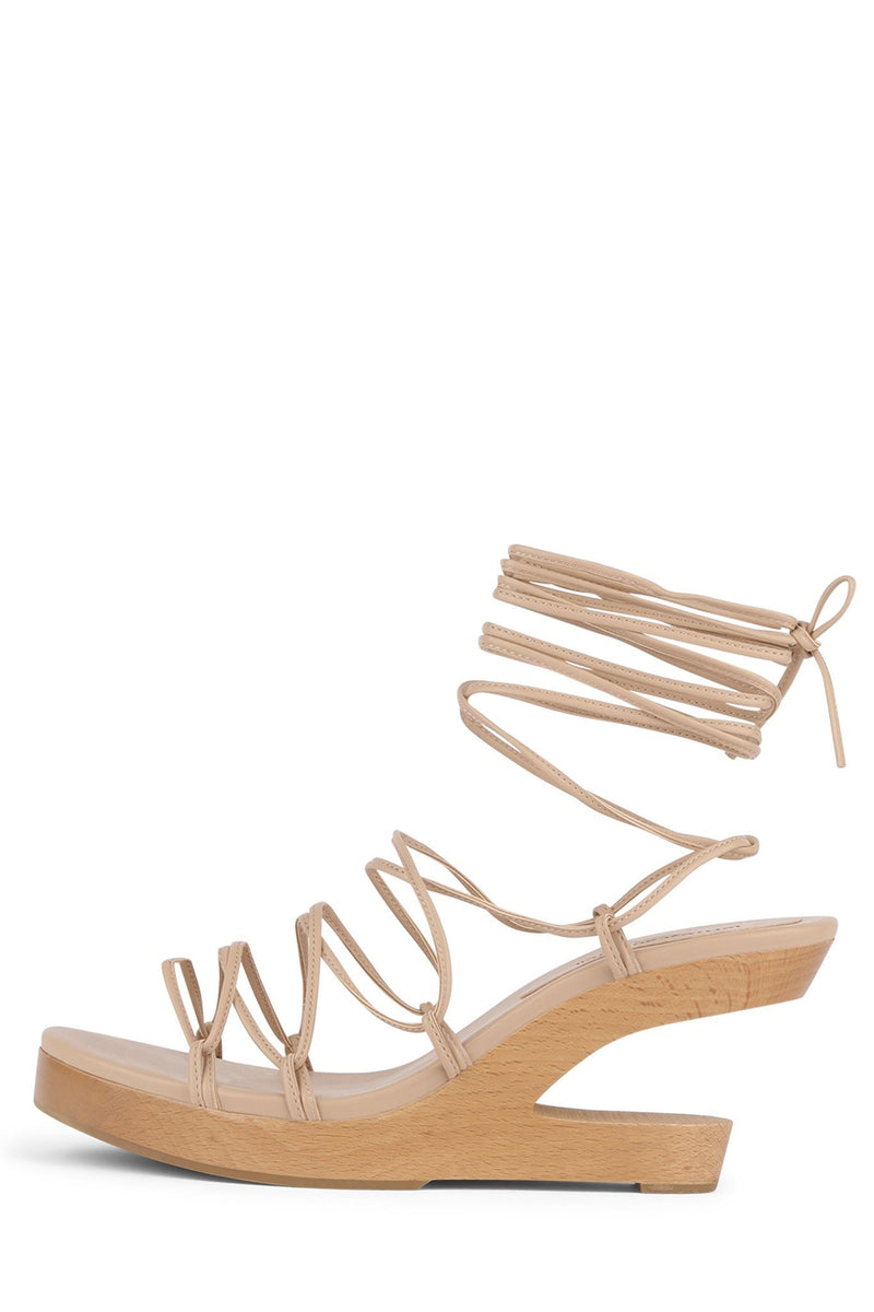 POSH-3 Wedge Sandal HS Natural 6