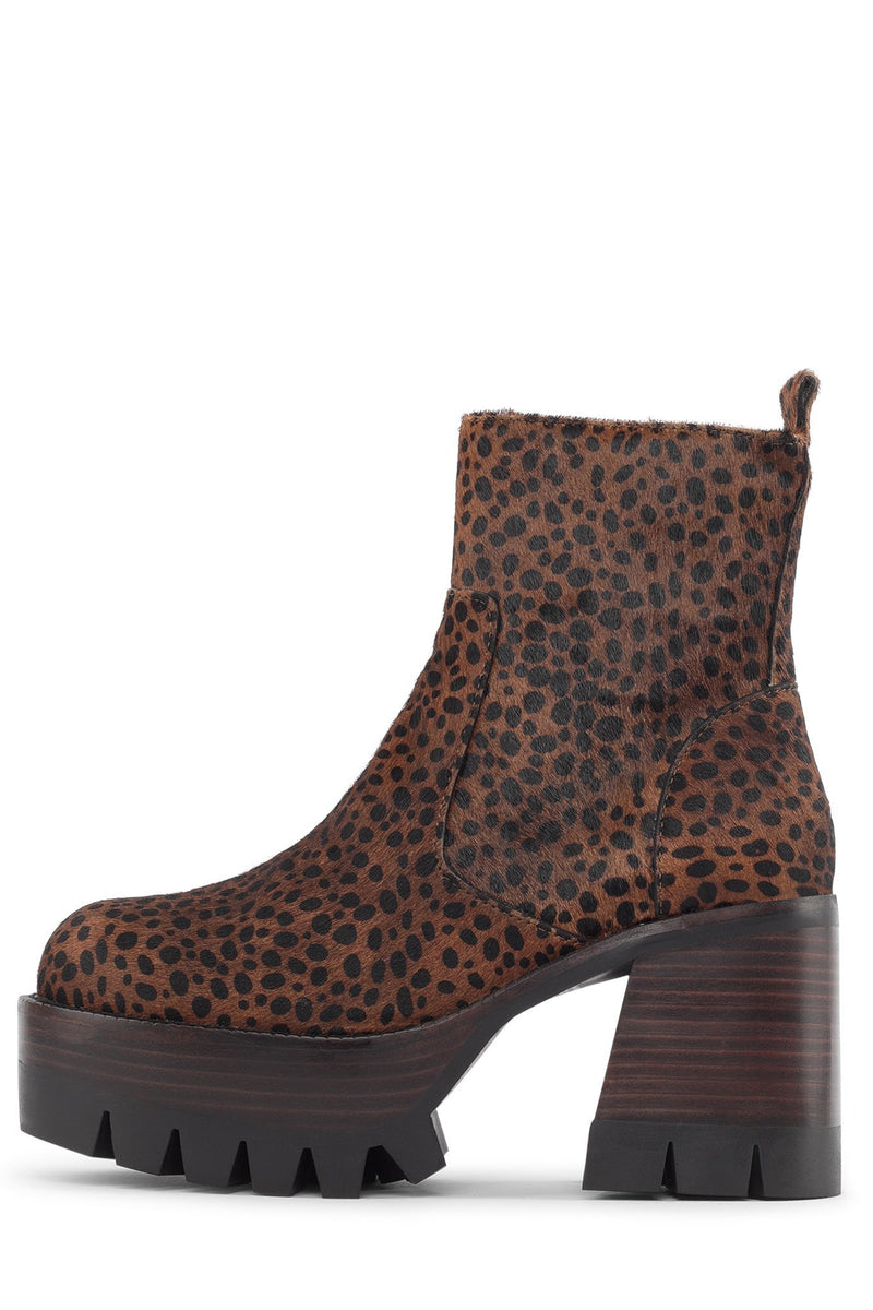 QUAVO-F Platform Boot HS Brown Jaguar 6