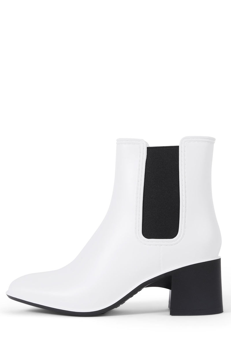 RAINYDAY Jeffrey Campbell White Black Combo 6