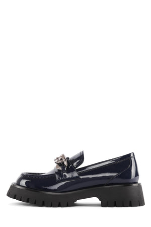 RECESS Loafer Jeffrey Campbell Navy Patent 6
