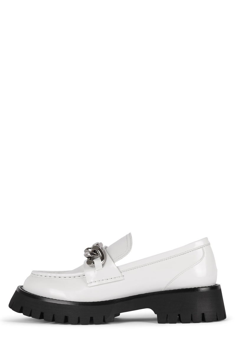 RECESS Loafer Jeffrey Campbell White Box 6