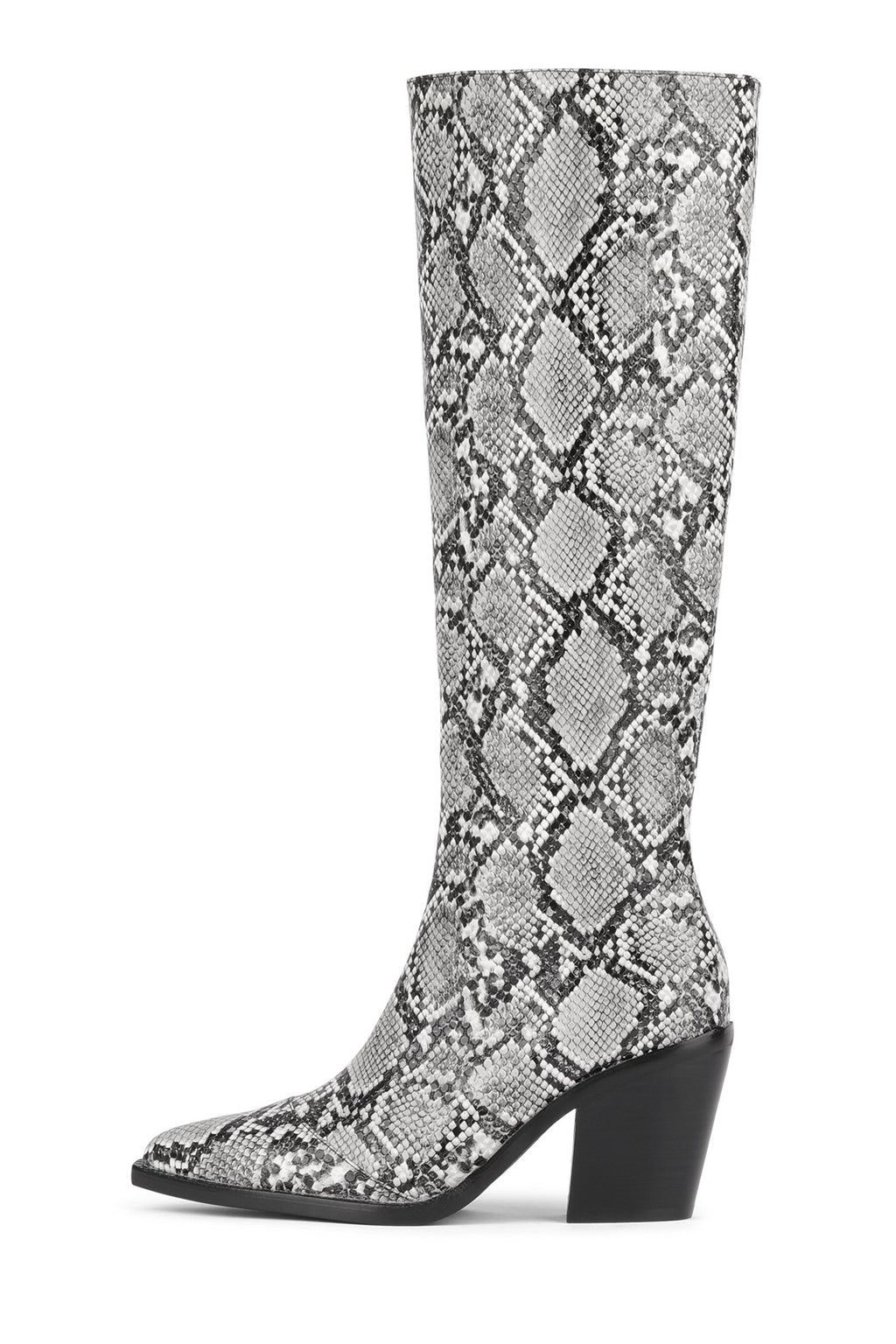 RUMOURS-NB Knee-High Boot YYH Grey Snake 6