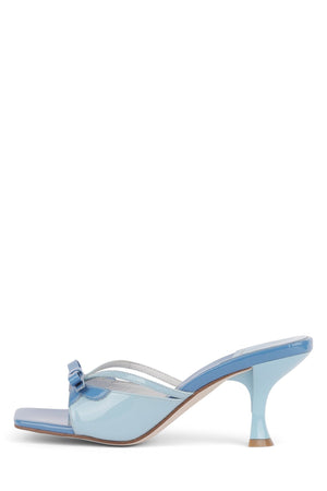 SAMANTHA-J Heeled Sandal YYH Blue Pat Multi 6