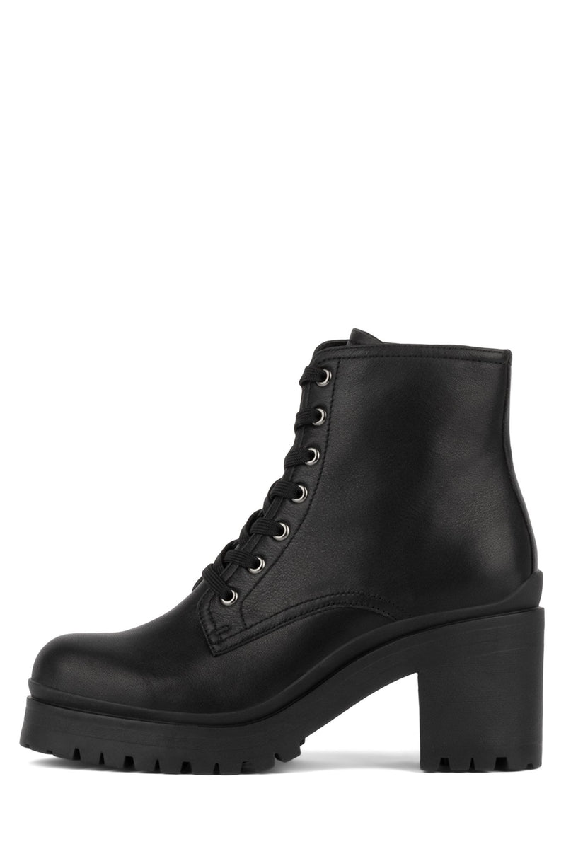 SCAVENGER Heeled Bootie Jeffrey Campbell Black 6