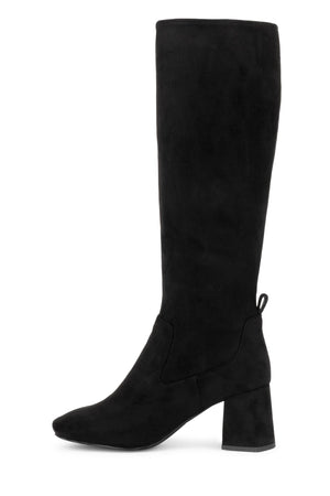 SERINE Knee-High Boot YYH Black Suede 6