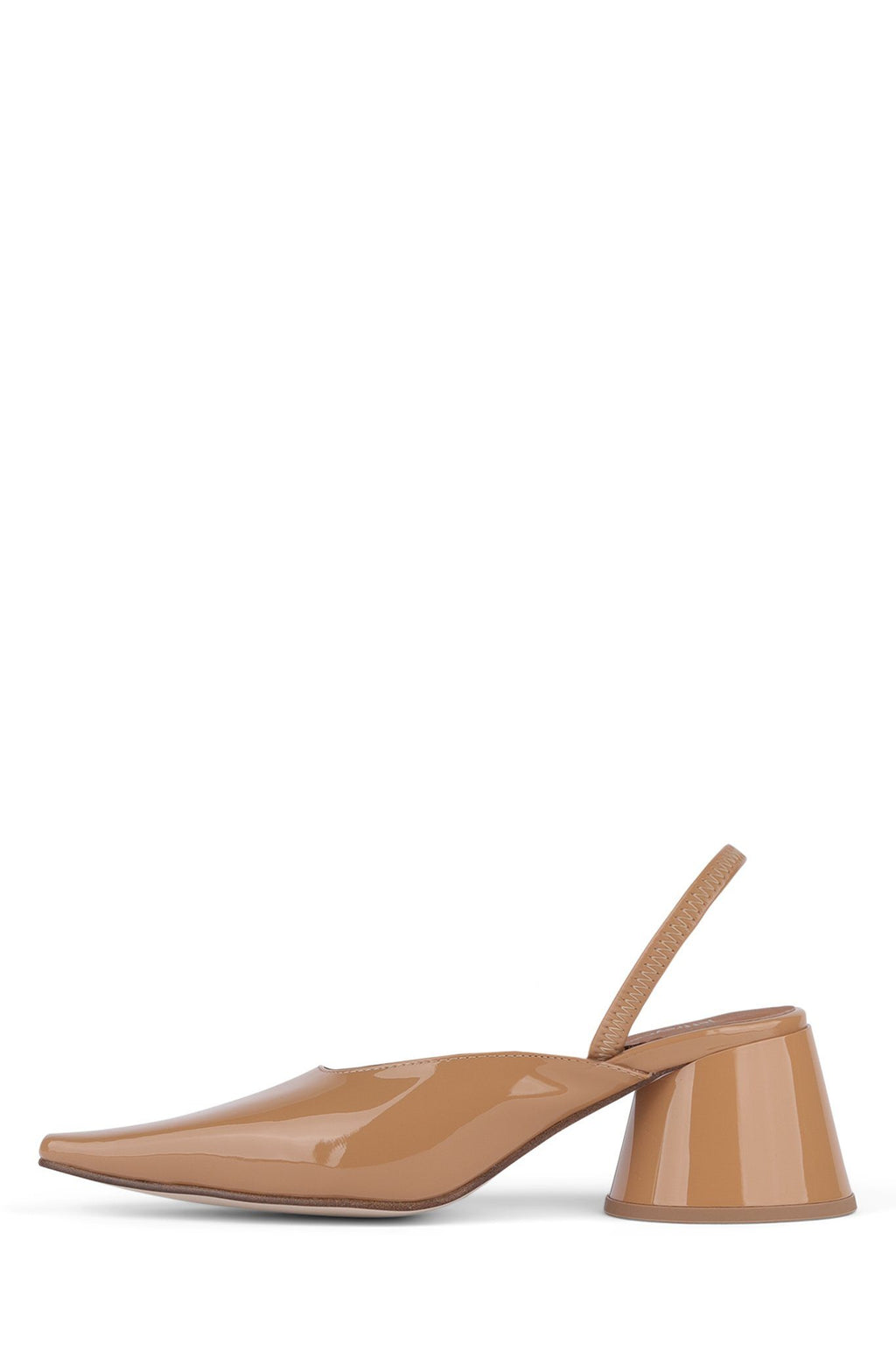 SERRA-S Heeled Mule YYH Nude Patent 6
