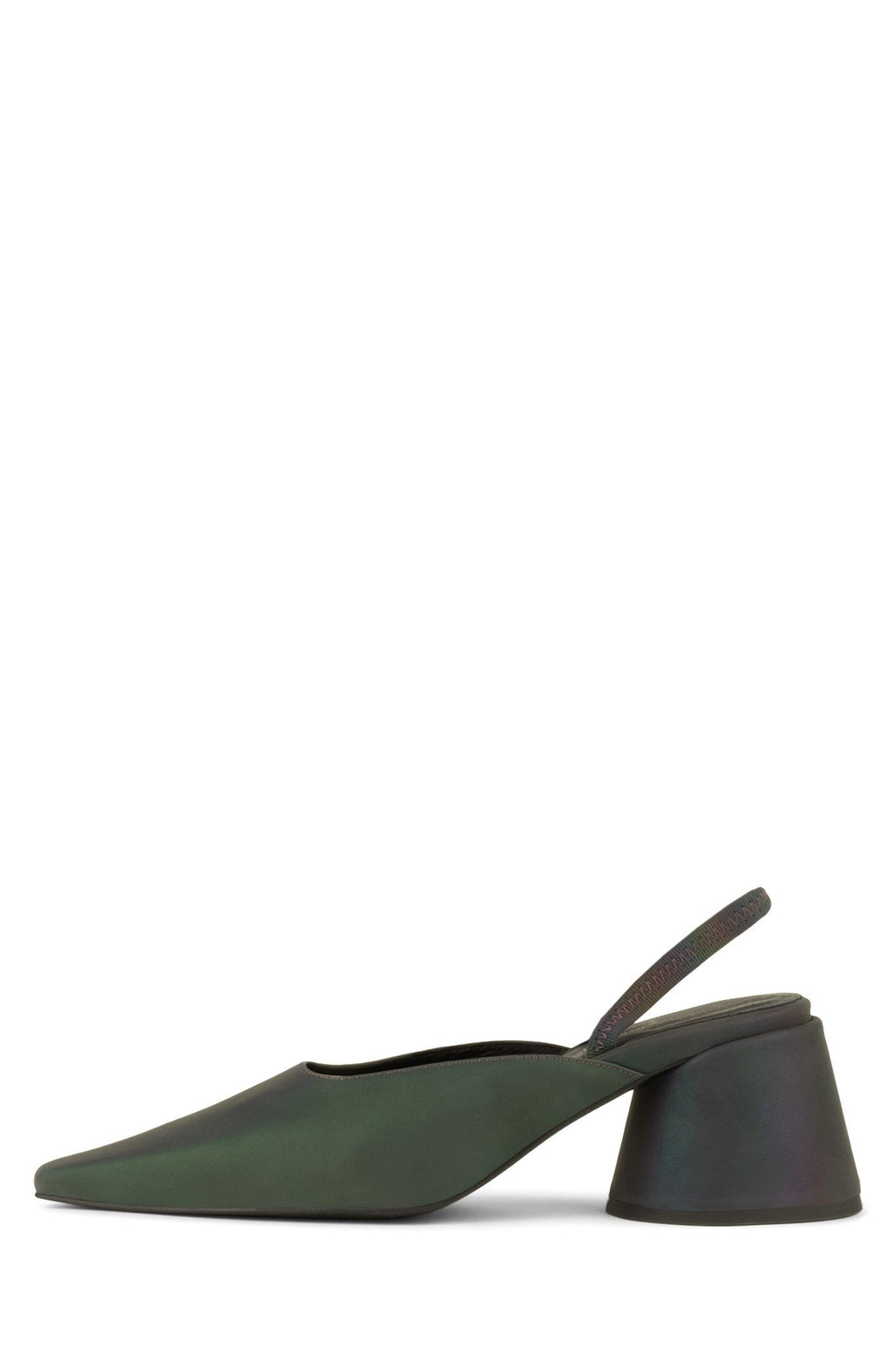 SERRA-S Heeled Mule YYH Purple Reflective 6