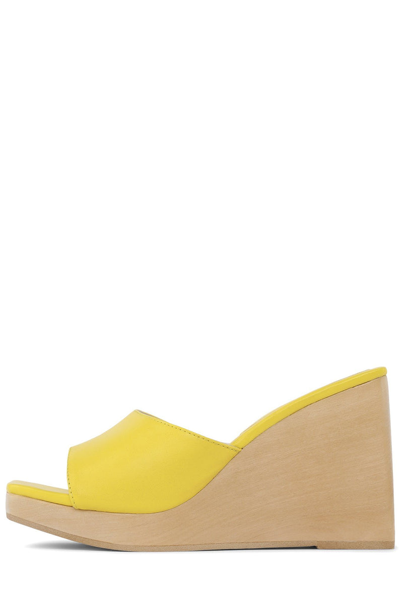SIMONA Wedge Sandal HS Yellow 6