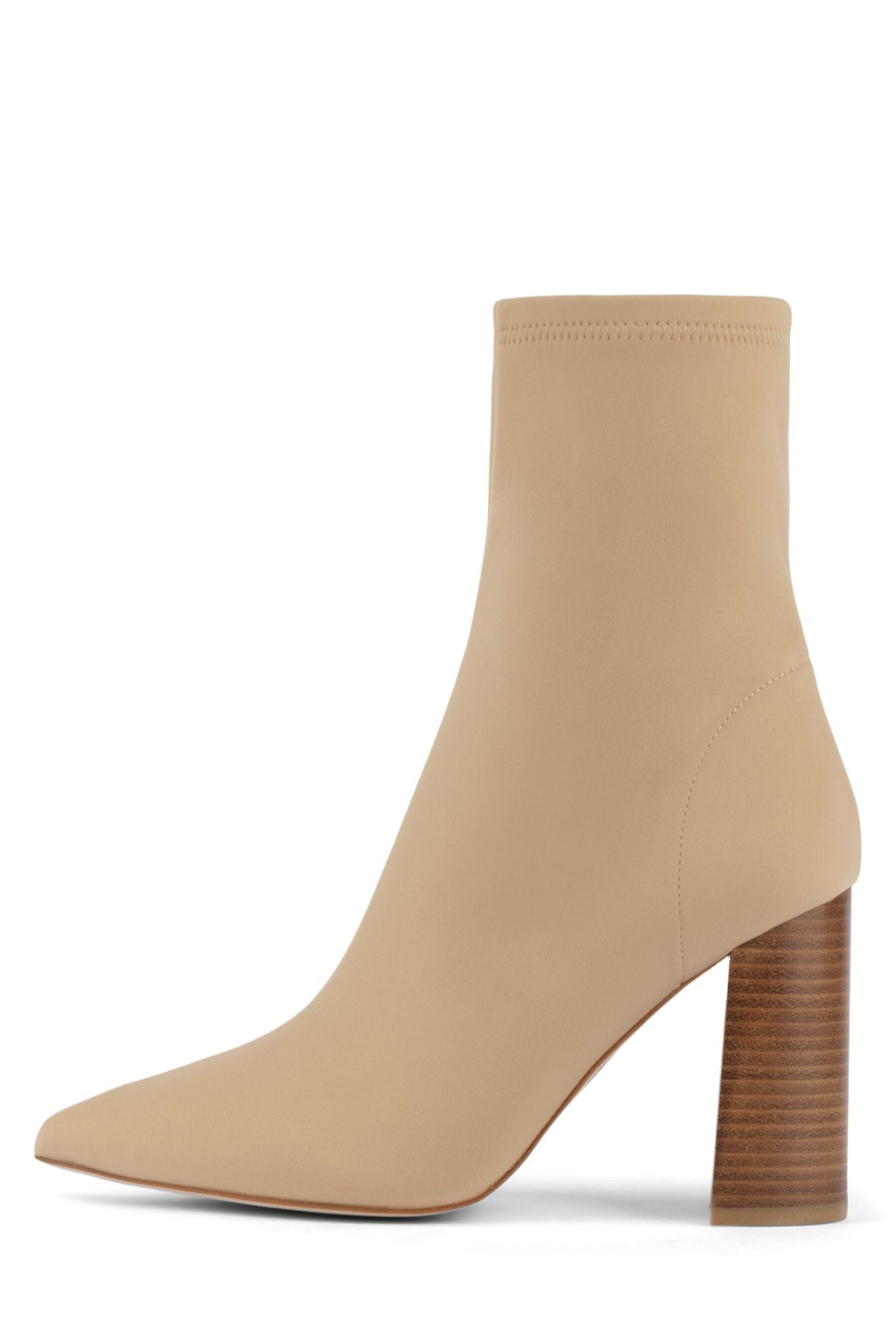 SIREN-3 Heeled Boot ST Beige Neoprene 6