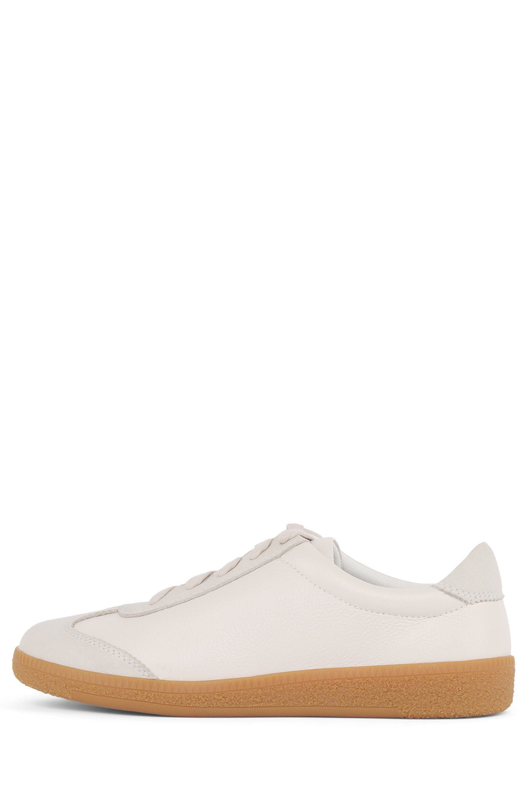 SKATER Sneaker Jeffrey Campbell White Suede Off White 7