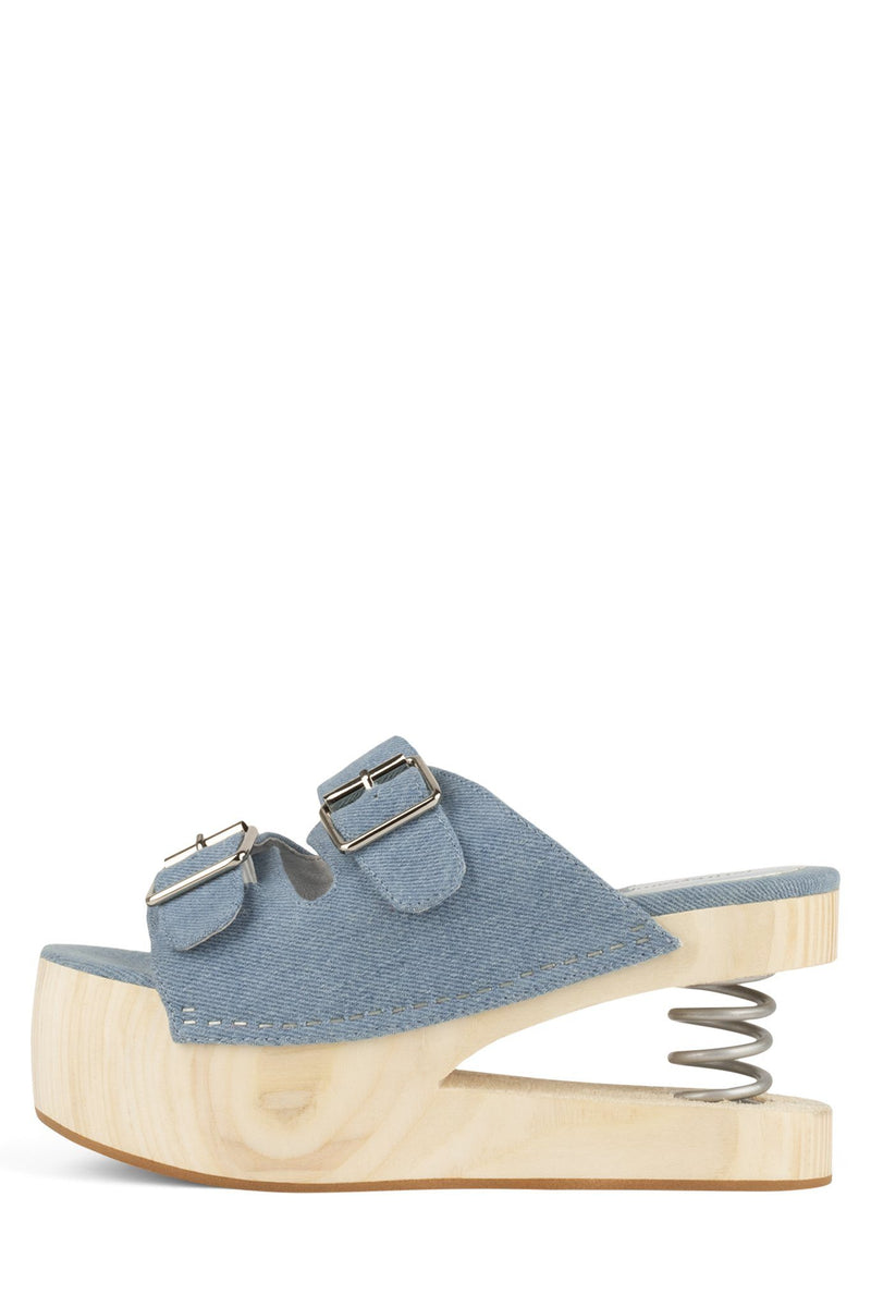SPRINGJUMP Platform Sandal HS Light Blue Denim 6