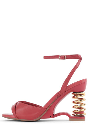 SPRUNG Wedge Sandal YYH Red Gold 6