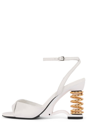 SPRUNG Wedge Sandal YYH White Gold 6
