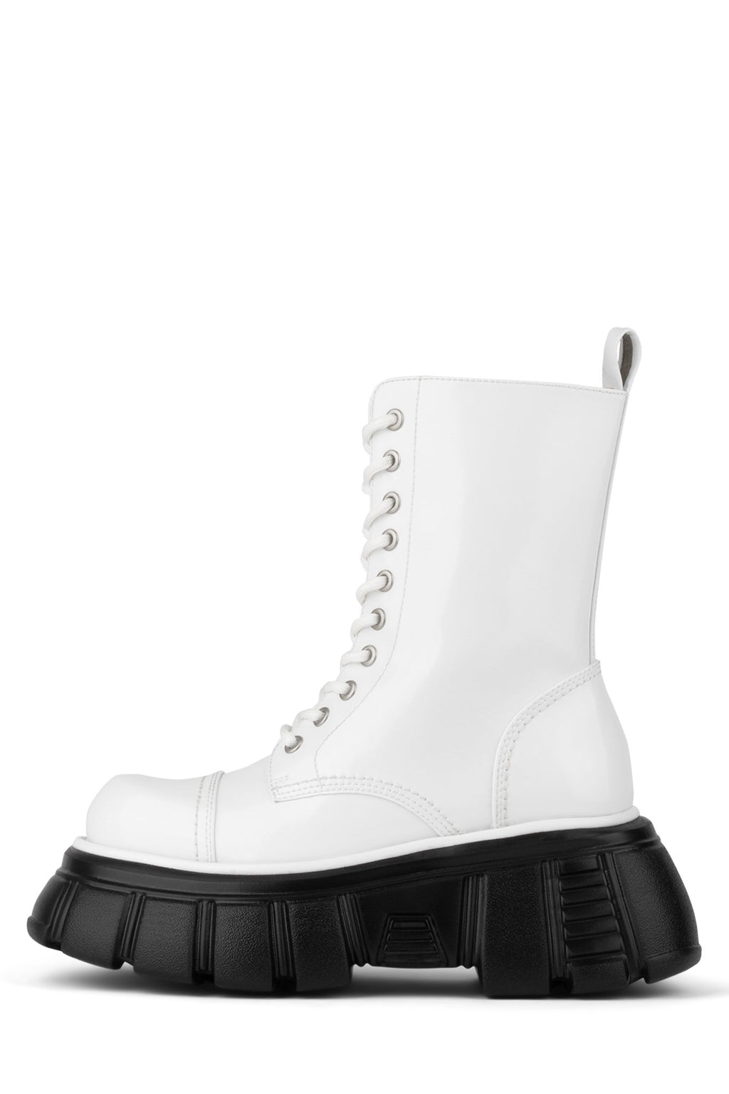 STOMP Platform Boot Jeffrey Campbell White Box 6