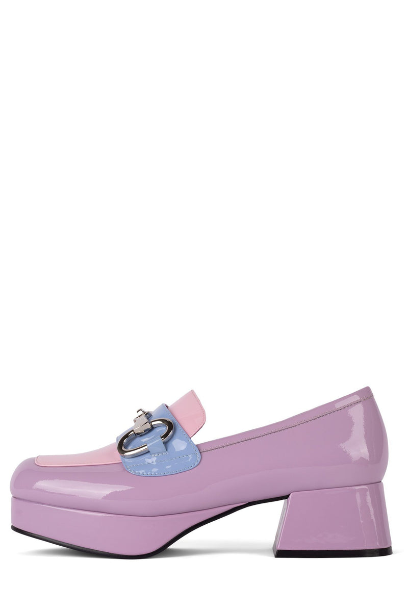 STUDENT-2 Loafer DV Lilac Pink Periwinkle Pat Combo 5