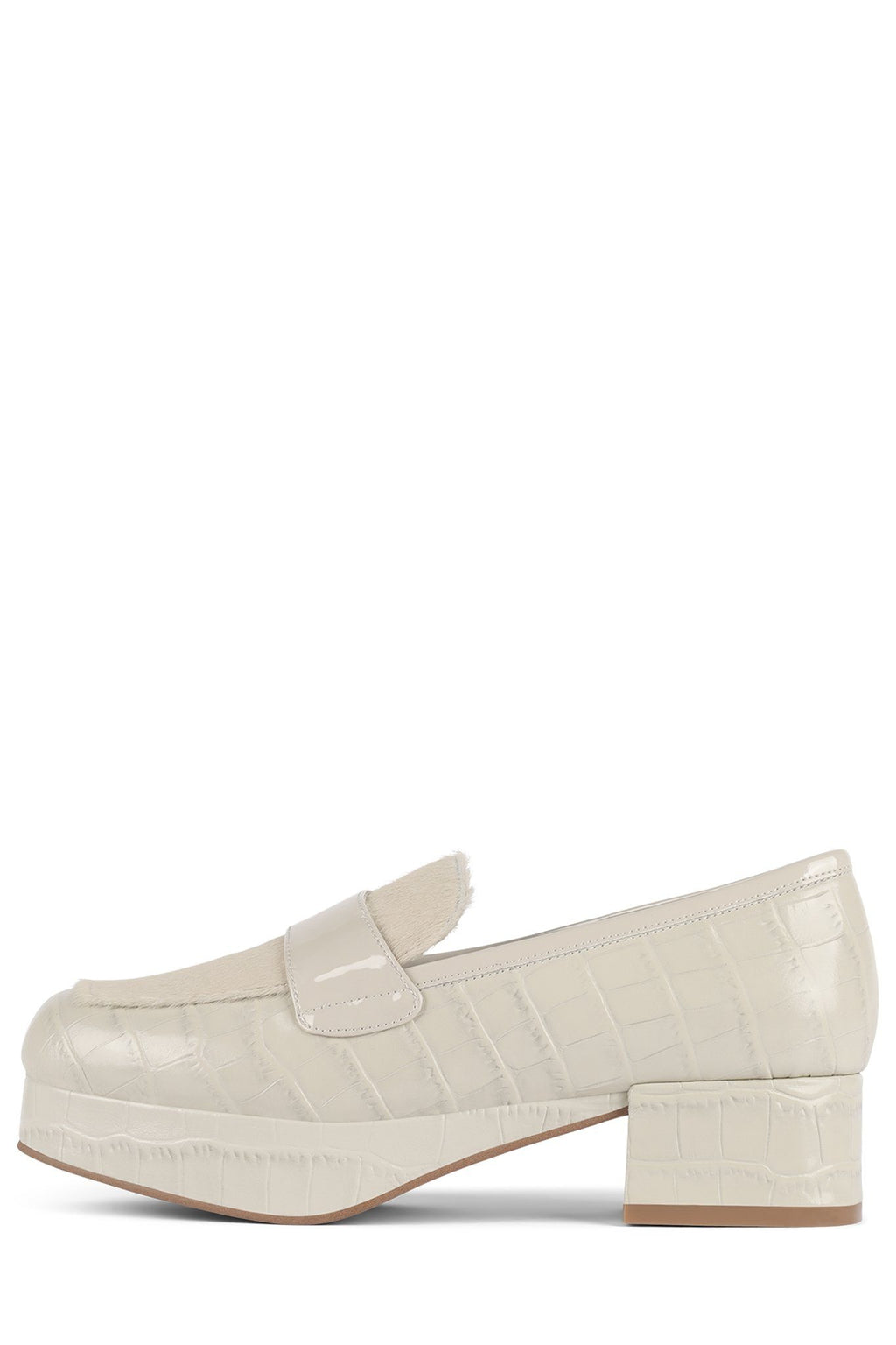 STUDENT Loafer DV Ivory Exotic Combo 6