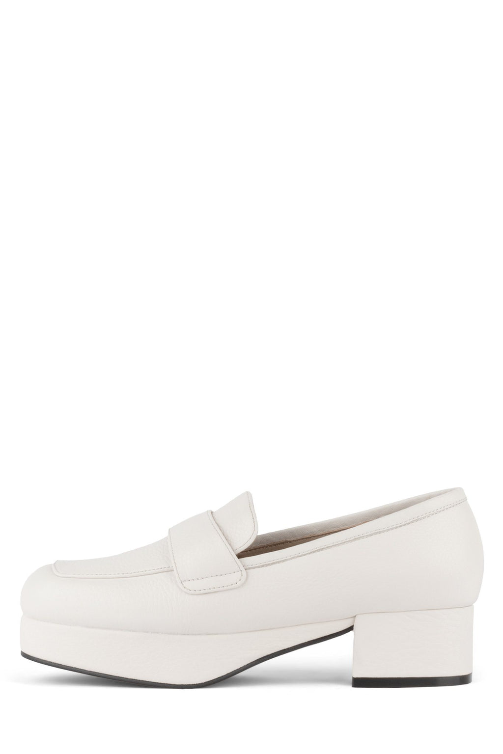 STUDENT Loafer Jeffrey Campbell Ivory 6