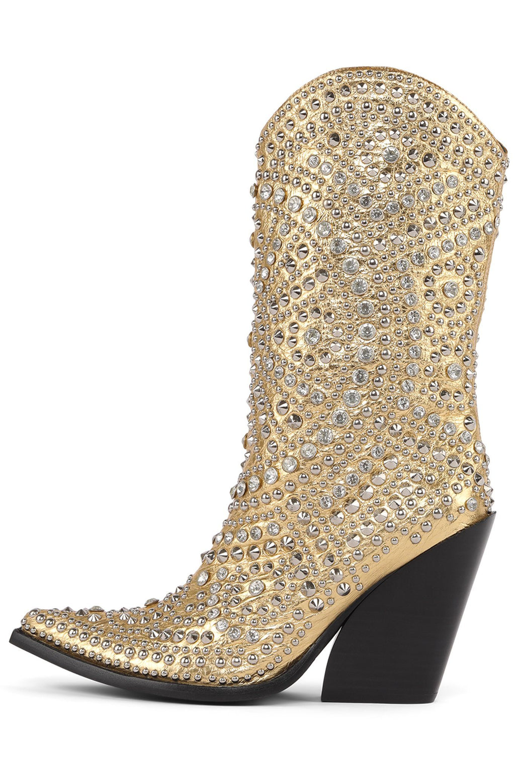 STUDLEY Mid-Calf Boot YYH Gold 6