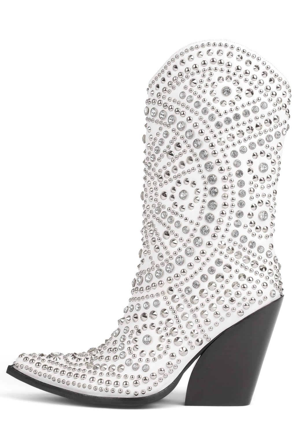 STUDLEY Mid-Calf Boot YYH White 6