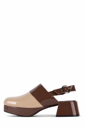 SUB-2 DV Nude Patent Brown Patent 6
