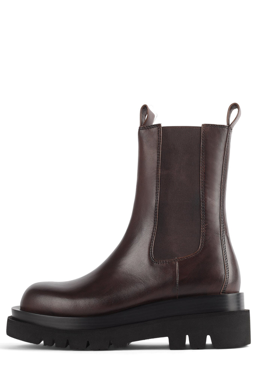 TANKED Platform Boot Jeffrey Campbell Dark Brown 6