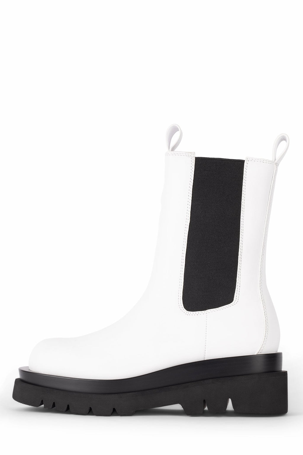 TANKED Platform Boot Jeffrey Campbell White 6