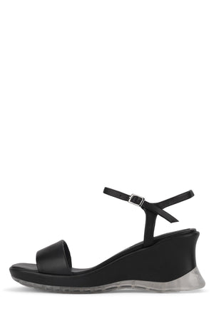 TATSUKI Wedge Sandal YYH Black 6