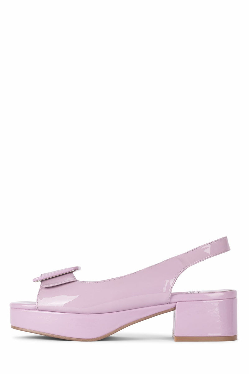 TEACHER-2 DV Bright Lilac Patent 6