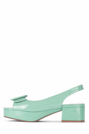 TEACHER-2 DV Seafoam Green Patent 6