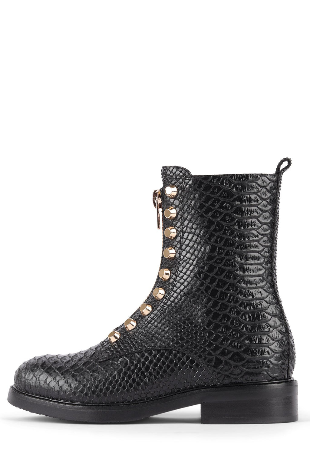 TONETTE Heeled Bootie YYH Black Snake 6