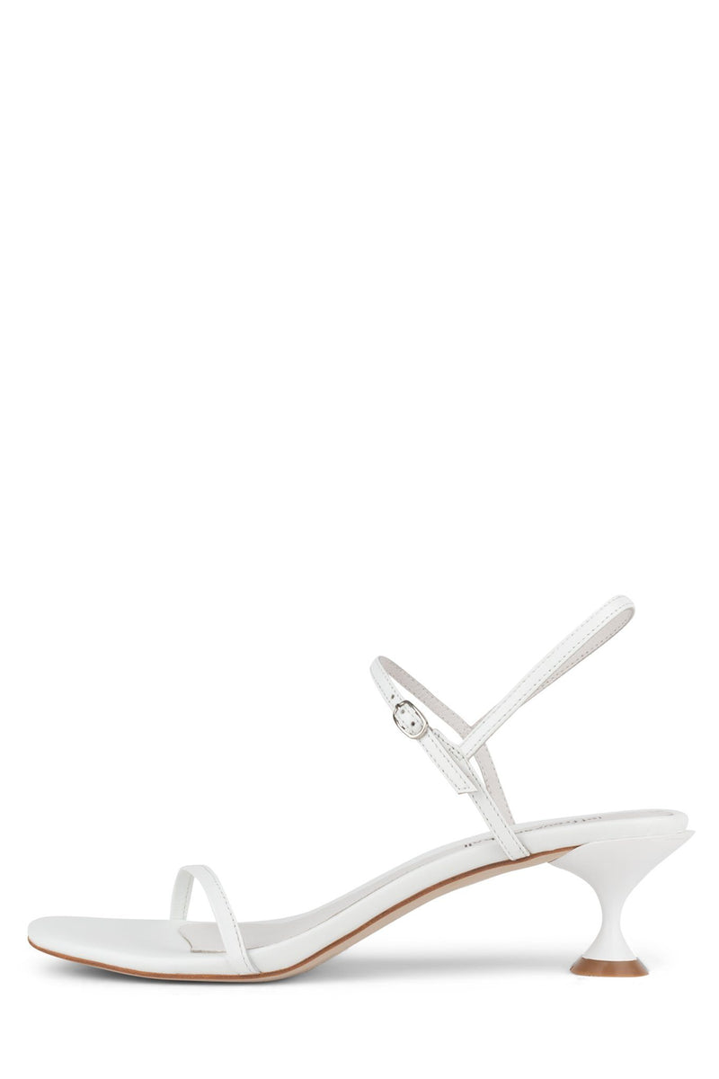 TWILIGHT-2 Heeled Sandal ST White 6