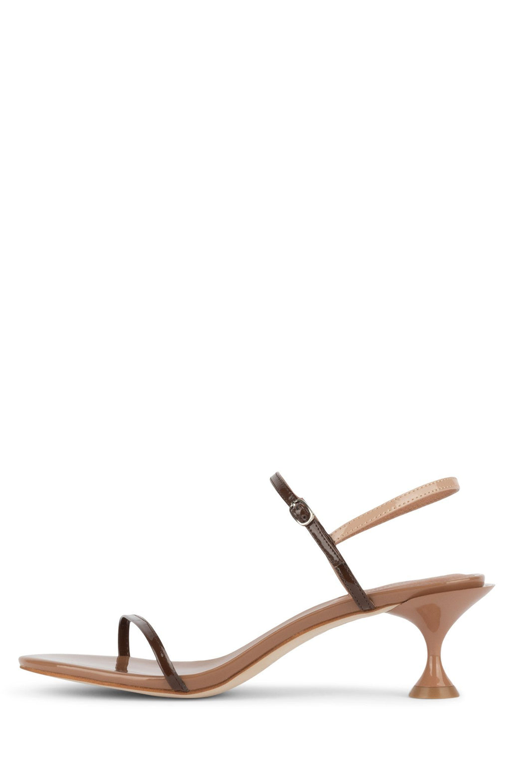 TWILIGHT-2 Heeled Sandal STRATEGY Nude Patent Multi 6