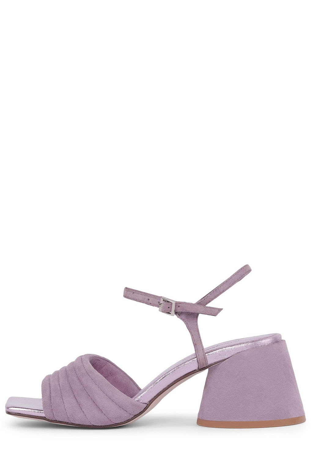 VERRA Heeled Sandal YYH Lilac Metallic Suede Combo 6