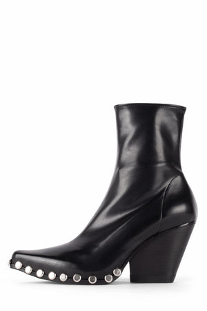 WALTON-ST Heeled Boot YYH Black Silver 5