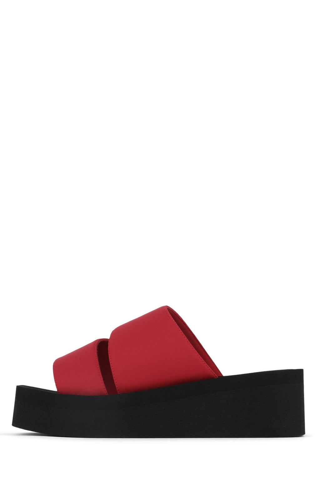 WAVEY Platform Sandal YYH Red Neoprene 6