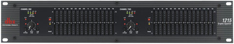 DBX 1215 Dual Channel 15-Band Eq