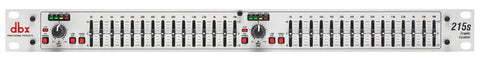 DBX 215S Dual Channel 15-Band Eq