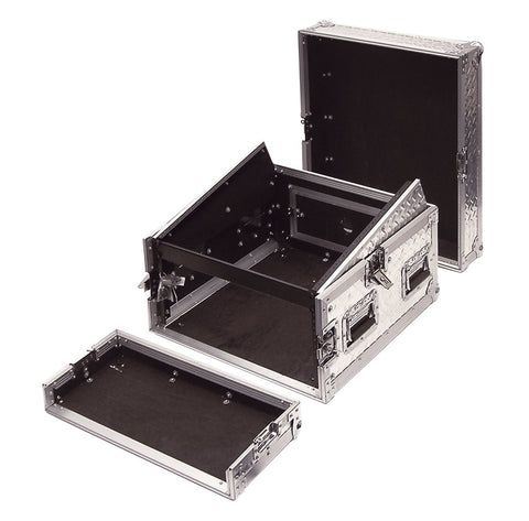 4U Full Flight Rack Case With 10U Top