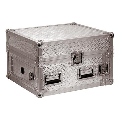 6U Full Flight Rack Case With 10U Mixer Top