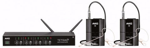 AKG DMS Tetrad Performance Set 2.4Ghz