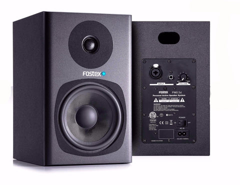 Fostex PM0.5d Active Monitors Black Pair