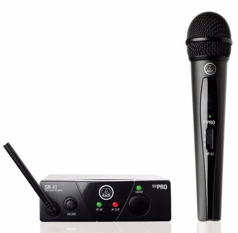 AKG WMS40 Mini Handheld Wireless System CH70