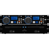IMG StageLine CD-230USB Dual CD Player