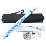 Nuvo jFlute N220JFBL White With Blue Trim