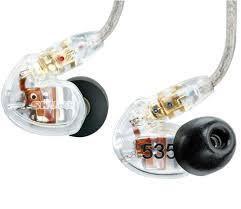 Shure SE535-CL  Earphones Clear
