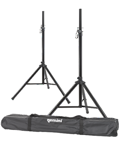 Gemini ST-Pack Speaker Stands/Case