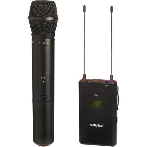 Shure FP25/VP68 K3E Handheld Wireless System
